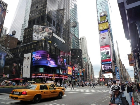 Broadway Time Square NY