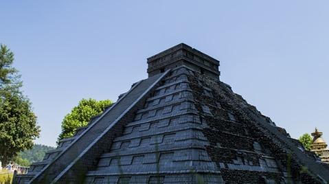 Mexico - Mayan Pyramid