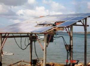 Solar Panel at Bayas, Estancia 2