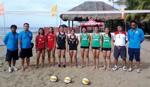 The CPU Beach Volleyball HS girls won the championship.