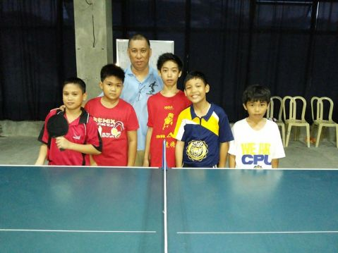 Young champs! CPU Table Tennis Elementary Boys