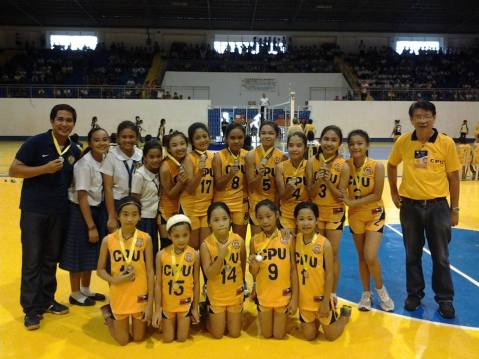 ILOILO PRISAA 2013 CHAMPION CPU Elementary Volleyball girls