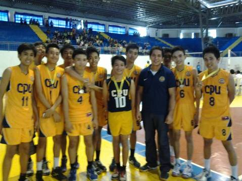 ILOPRISAA 2013 CHAMPION CPU High School Volleyball Boys