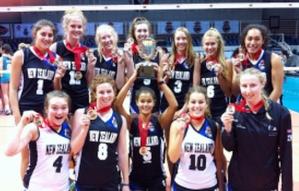 NZL Junior Womens Bronze Medallists in Philippines   Volleyball New Zealand